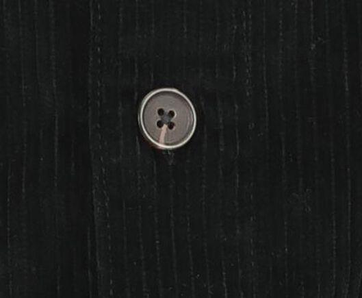 kinder salopette rib zwart zwart - 1000021173 - HEMA