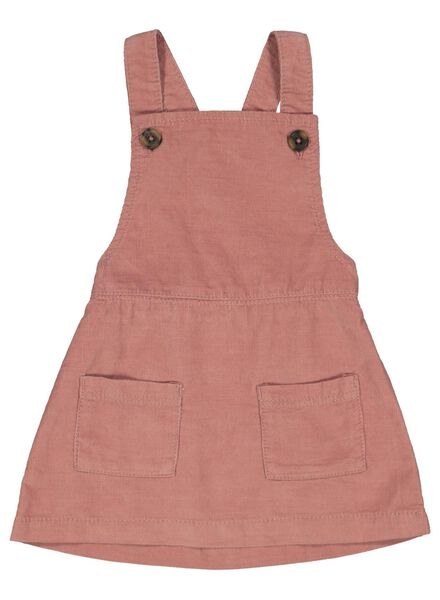 baby salopette jurk roze roze - 1000014927 - HEMA