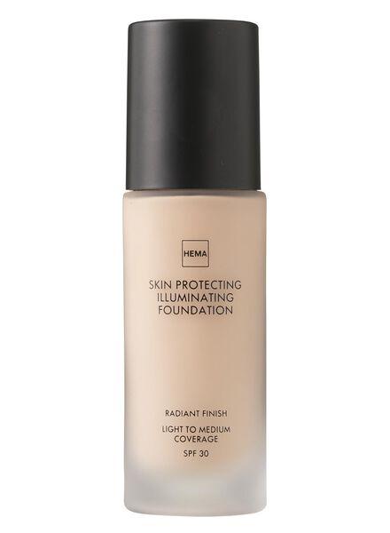 skin protecting illuminating foundation Rose 01 - 11291201 - HEMA