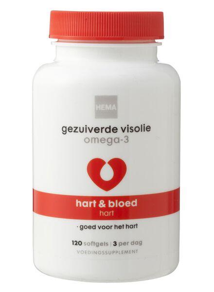 gezuiverde visolie omega-3 - 11401541 - HEMA