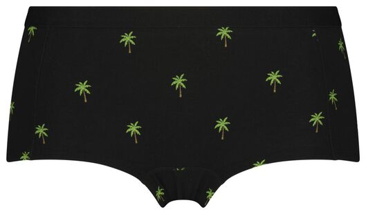 tiener boxer palmbomen zwart zwart - 1000023401 - HEMA