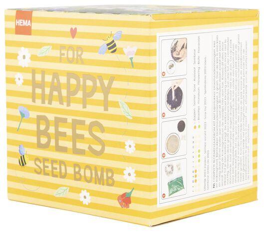 bloemenzaadbom kit bijen - 41810092 - HEMA