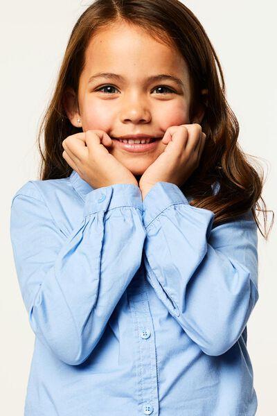 kinderblouse lichtblauw 134/140 - 30890375 - HEMA