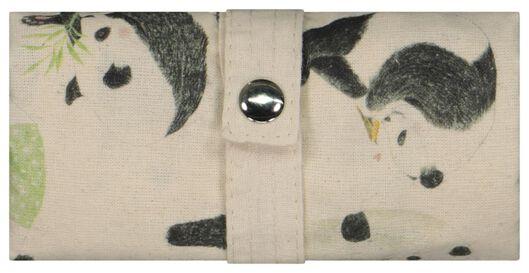 tas opvouwbaar canvas 40x36 panda - 61133303 - HEMA