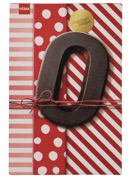 chocoladeletters - 160 gram puur puur - 1000016870 - HEMA