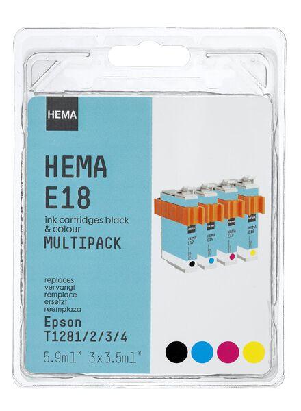 E18 vervangt Epson T128 - 38399209 - HEMA
