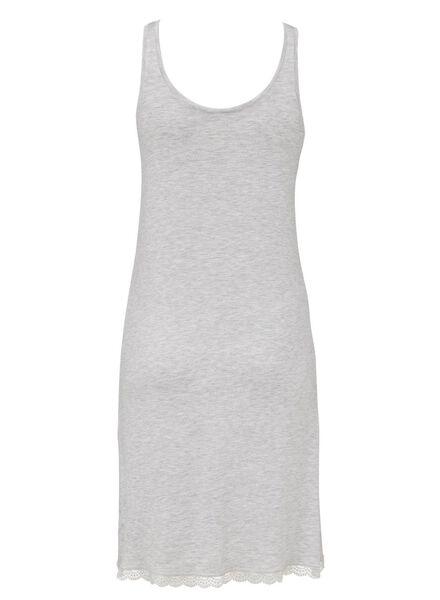 dames nachthemd grijsmelange grijsmelange - 1000008522 - HEMA