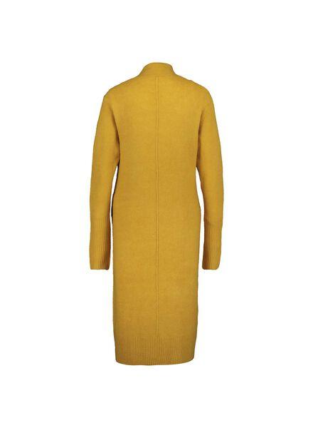damesvest gebreid geel geel - 1000014912 - HEMA