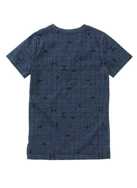 kinder t-shirt donkerblauw donkerblauw - 1000008248 - HEMA