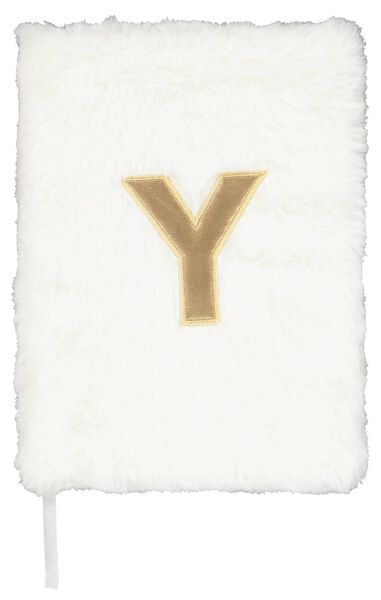 Notitieboek A5 fluffy letter Y
