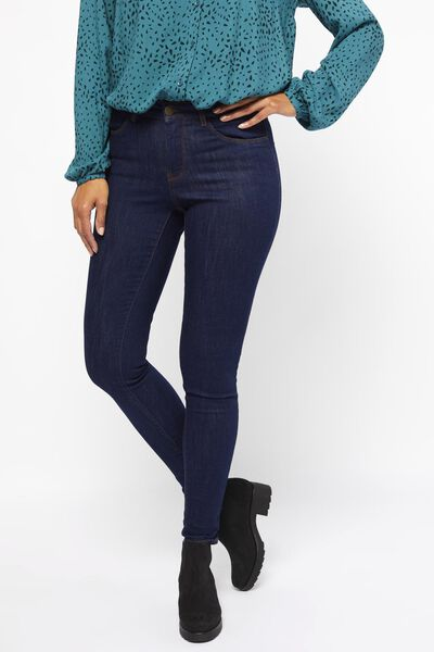 dames jeans -  skinny fit blauw 36 - 36307545 - HEMA