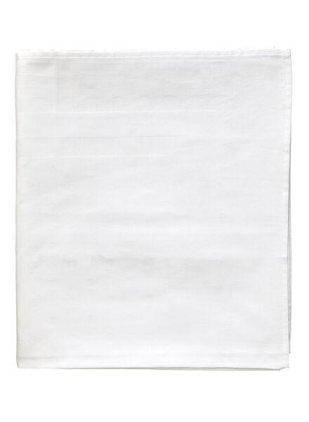 HEMA Tafelkleed - 140 X 250 - Katoen - Wit Stip (wit)