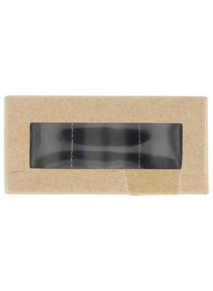 kandelaars magnetisch - 3.5x2.3 - 3 stuks - zwart - 13392007 - HEMA