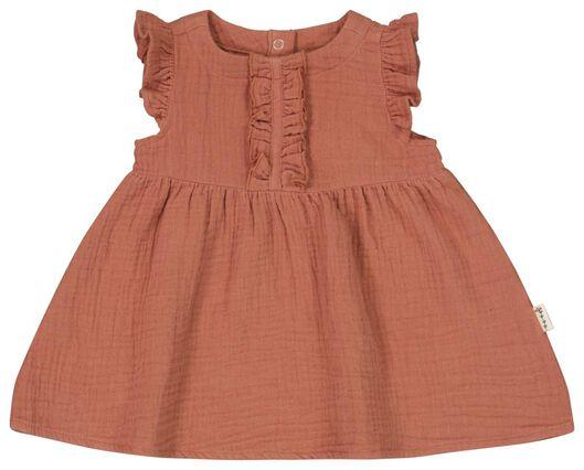 babyjurk bruin bruin - 1000023549 - HEMA