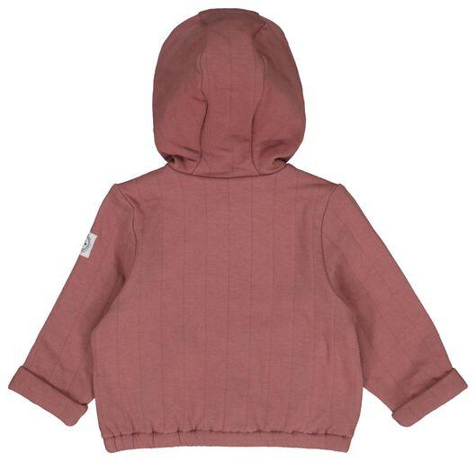 babyjas met cacpuchon padded roze 86 - 33006045 - HEMA