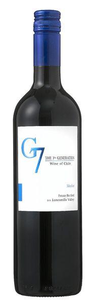 G7 merlot - 0,75 L - 17361992 - HEMA