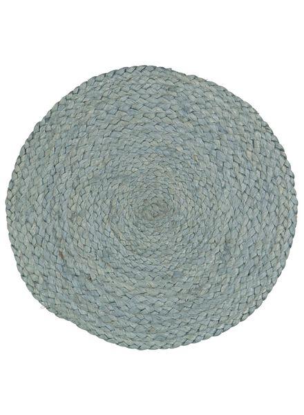 gevlochten placemat jute - Ø 34 cm - 5300060 - HEMA