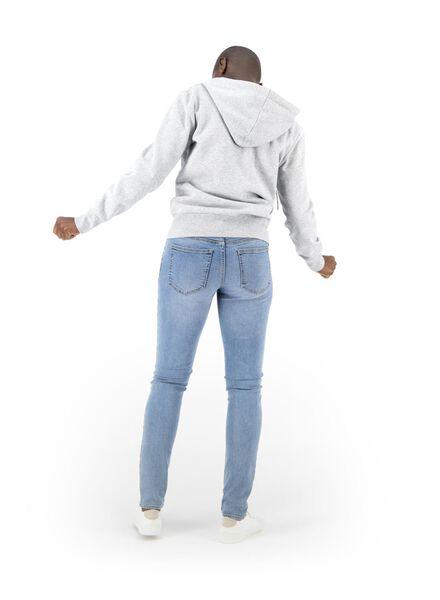 dames sweatvest grijsmelange grijsmelange - 1000014817 - HEMA