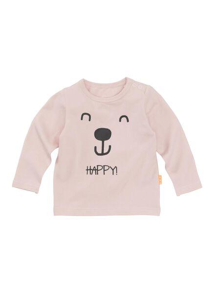 baby t-shirt roze roze - 1000008851 - HEMA