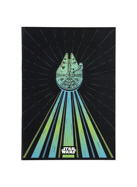 schrift Star Wars A4 - geruit 10 x 10 mm - 14900393 - HEMA