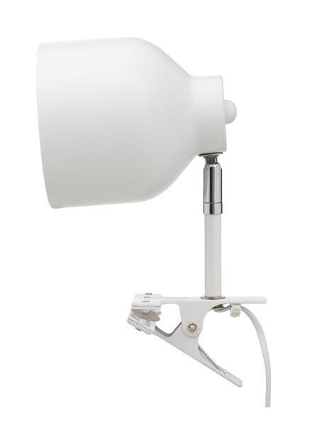 knijplamp - 12 x 20 cm - wit - 13100031 - HEMA