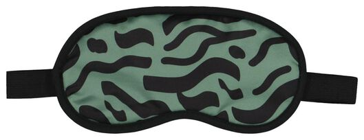 nekkussen en slaapmasker kind - safari - 18630306 - HEMA