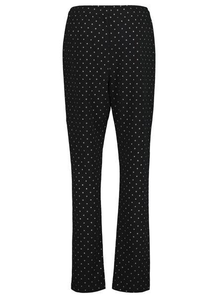 dames pyjama zwart zwart - 1000017252 - HEMA