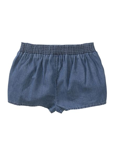 baby korte broek denim denim - 1000013429 - HEMA