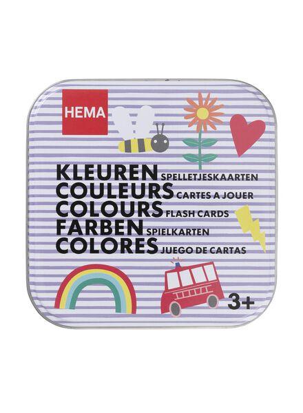 spelletjeskaarten kleuren - 15110198 - HEMA