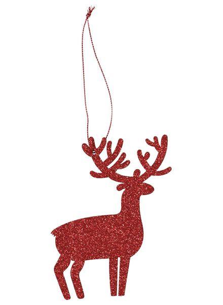 kersthangers hout - 6 stuks - 25100568 - HEMA