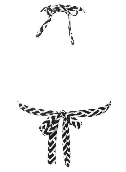 dames bikinitop zwart/wit zwart/wit - 1000008084 - HEMA