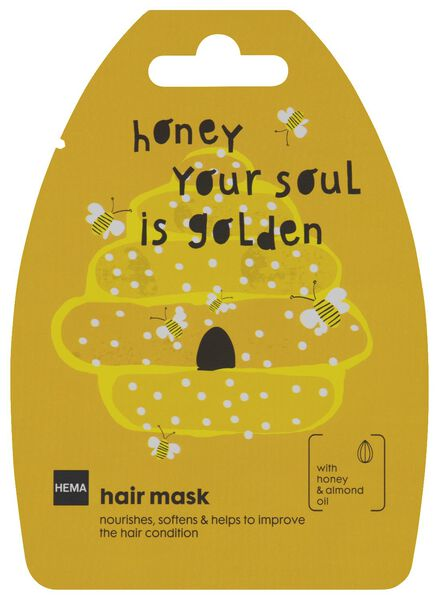 haarmasker honing - 20 g - 11000051 - HEMA