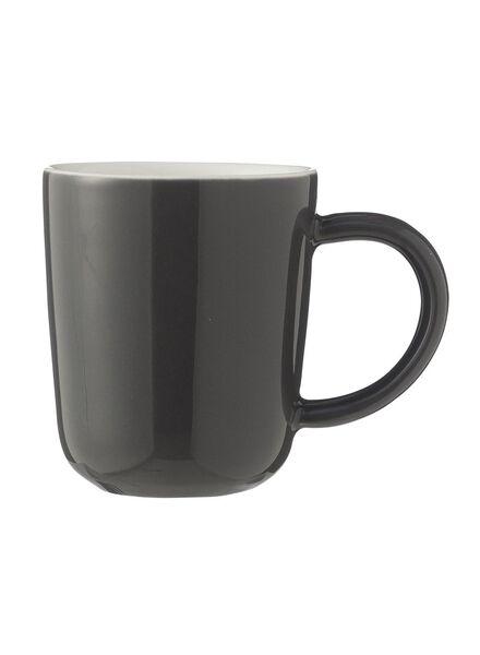 espressomok - 80 ml - Chicago - donkergrijs - 9680050 - HEMA