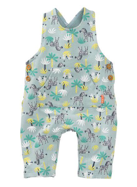 newborn jumpsuit lichtblauw lichtblauw - 1000008062 - HEMA