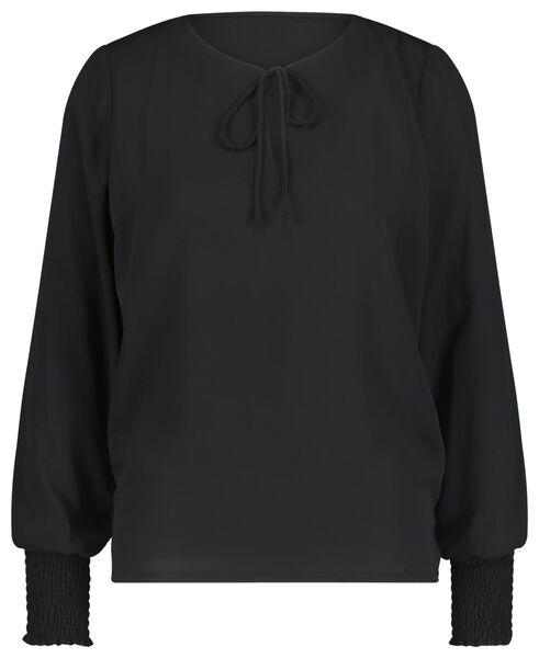 dames top zwart - 1000020948 - HEMA