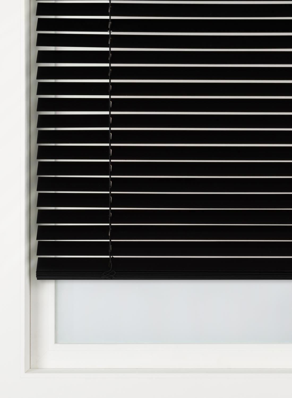 HEMA Jaloezie Hout 50 Mm Zwart (zwart)
