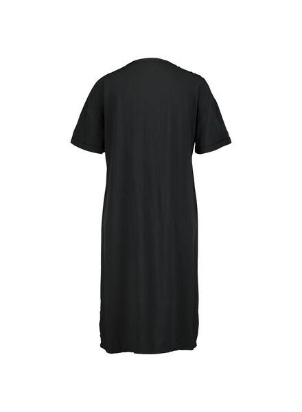 damesjurk zwart zwart - 1000013899 - HEMA