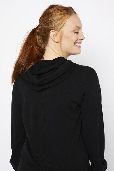 dames loungebroek zwart zwart - 1000021161 - HEMA