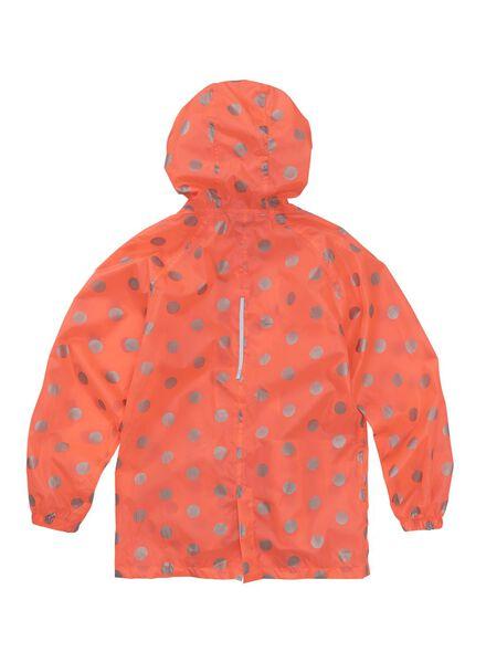 opvouwbare kinder regenjas roze 146/152 - 18421105 - HEMA