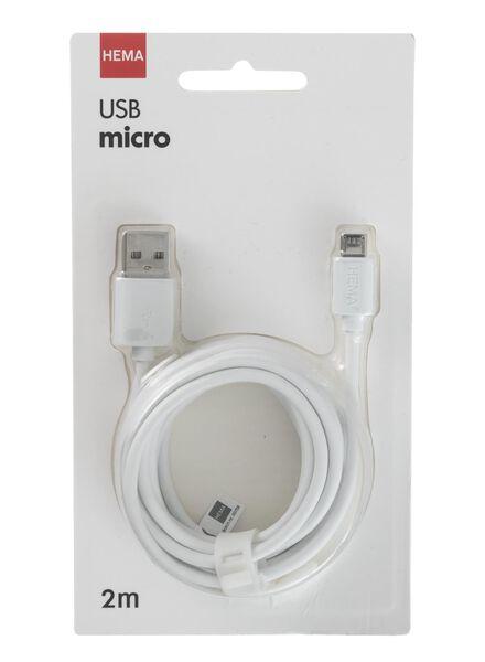 micro USB laadkabel - 39630051 - HEMA