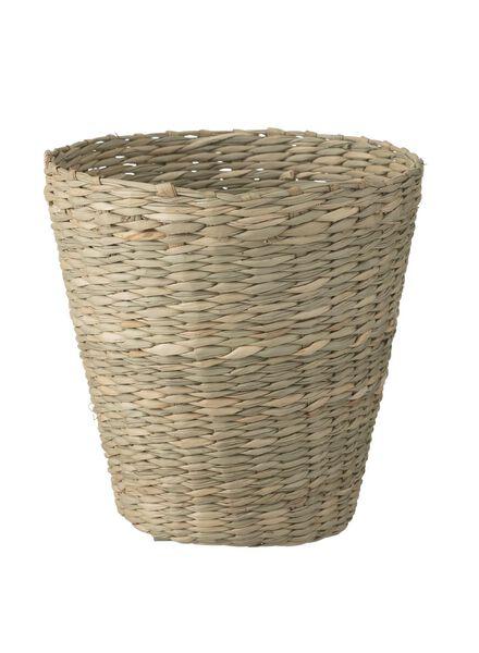 zeegras mandje 12 x 12 cm - 39890007 - HEMA