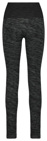 dames sportlegging grijsmelange grijsmelange - 1000018879 - HEMA
