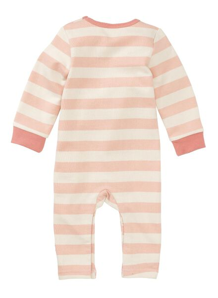 newborn baby jumpsuit roze roze - 1000011144 - HEMA