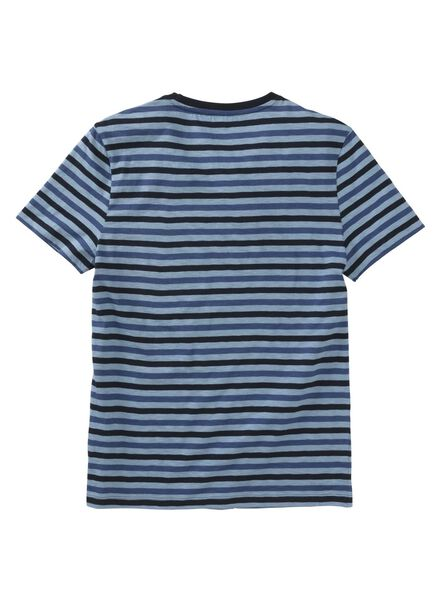 heren t-shirt denim denim - 1000006104 - HEMA