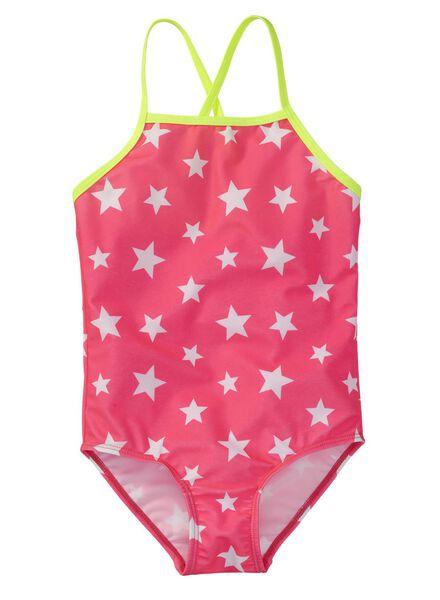 meisjes badpak roze roze - 1000002679 - HEMA