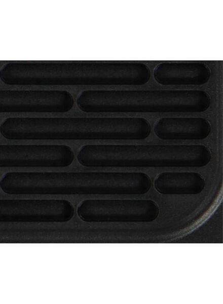 pannenlap - 17 x 17 - siliconen - zwart - 5400118 - HEMA