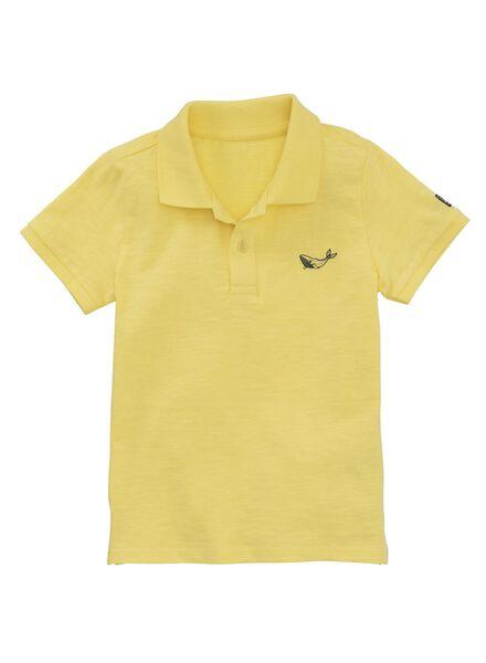 kinderpolo geel geel - 1000011701 - HEMA