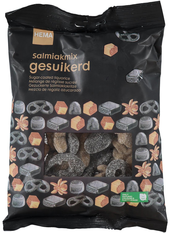 HEMA Salmiakmix Gesuikerd