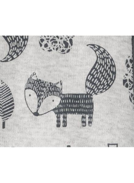 babyslaapzak padded grijsmelange grijsmelange - 1000009157 - HEMA