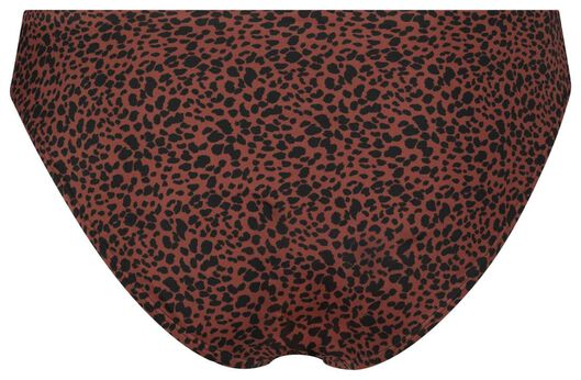 dames bikinislip donkerrood donkerrood - 1000017944 - HEMA